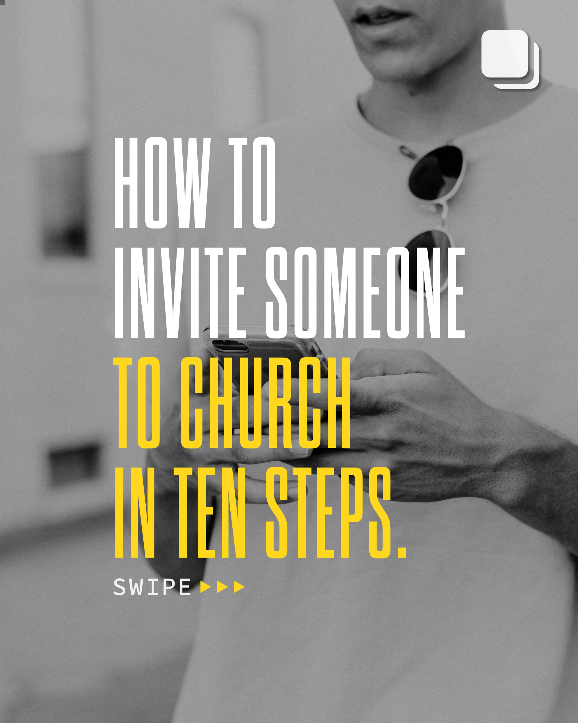 How to invite someone to church in ten steps. 1. Do 2. You 3. Want 4. To 5. Come 6. To 7. Church